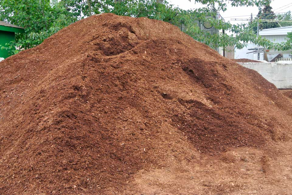 American Landscaping Anchorage - mulch photo